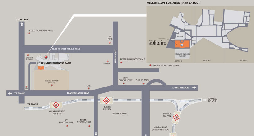 Rupa Solitaire – Office Space for Lease | Realty Gyan